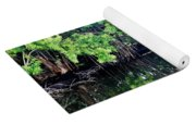 Reflection On The North Fork River Yoga Mat