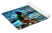 Riding The Waves Yoga Mat