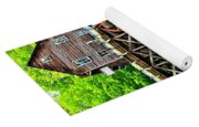 River Rock And A Grist Mill Yoga Mat