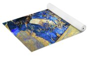 Rocks Of Gold Yoga Mat