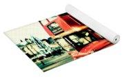 Routemaster Retro Pop Art  Yoga Mat