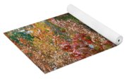 Rust Colored Leaves Over Autumn Pond Yoga Mat