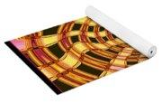 Satin Ribbons Abstract Yoga Mat