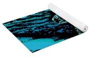 Sea Turtle Swimming Yoga Mat