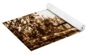Sepia Picnic Table Lll Yoga Mat