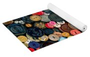 Sewing - Buttons - Bunch Of Buttons Yoga Mat