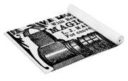 Slide Projector Ad, 1878 Yoga Mat