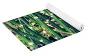 Snake Grass On The Beach Yoga Mat