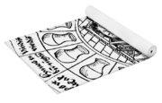 Speculum Videndi Urinas Hominum Yoga Mat