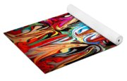 Spirit Of Mardi Gras Yoga Mat