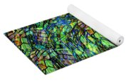 Stained Glass In Abstract Yoga Mat