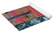 Sumac Slope And Lichen Covered Tree Yoga Mat