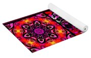 Summer Introspection Of An Extrovert Triptych Vertical Yoga Mat