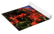 Montbretia, Summer Wildflowers Yoga Mat