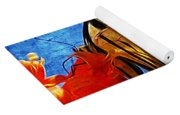 Sun Lit Eastern Tiger Swallowtail Yoga Mat
