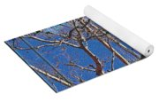 Sycamore Tree Branch Art Yoga Mat