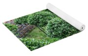 Temple Garden Trees Yoga Mat