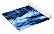 Tentacles Of Ice Yoga Mat