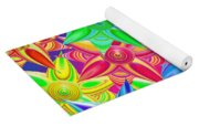 The Power Of Flowers Yoga Mat