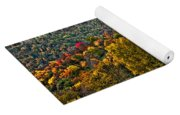 The Road To Glady Wv Painted Yoga Mat