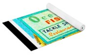 Topsail Island Old Sign Yoga Mat