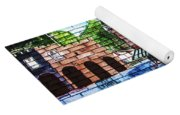 Town Wall Art Yoga Mat