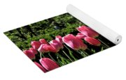 Tulips And Fountain Yoga Mat