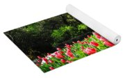 Tulips And Woods Yoga Mat