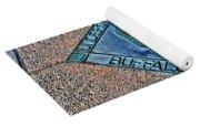 Underground Rr Buffalo Ny Landscaped Yoga Mat