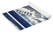 United States Blue Yoga Mat