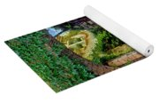 Village Lane Provence France Yoga Mat