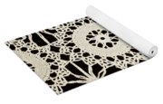 Vintage Crocheted Doily Yoga Mat