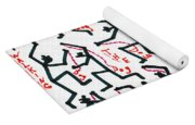 Walking The Dogs - Dec Two K Eleven Yoga Mat