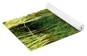 Water Lilies Reflection Yoga Mat