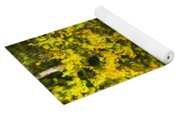 Water Reflection Abstract Autumn 1 F Yoga Mat