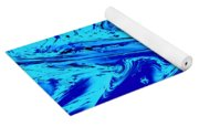 Waves Of Abstraction Yoga Mat