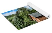 Weathered Red Barn Yoga Mat