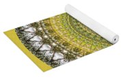 Woodland Abstract Yoga Mat