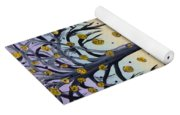 Yellow-blossomed Wishing Tree Yoga Mat