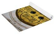 Yellow Door In Bardo Yoga Mat
