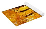 Yellow Wood Yoga Mat