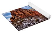Zion Canyon In Utah Yoga Mat