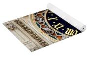Zodiac Clock Yoga Mat