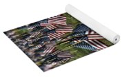 03 Flags For Fallen Soldiers Of Sep 11 Yoga Mat