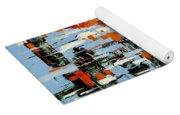Abstract Art Project #25 Yoga Mat