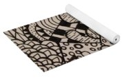 Aceo Zentangle Abstract Design Yoga Mat