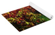 Autumn Vineyard In The Morning  Yoga Mat
