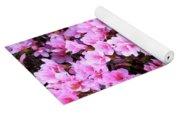 Azalea Flowers Yoga Mat