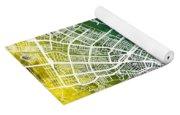Cali Colombia City Map Yoga Mat