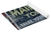 Chew Mail Pouch Tobacco Ad Yoga Mat